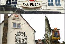 Pub and Restaurant Signage