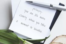 take a deep breath / we see life more clearly when we take a moment to breath. #dontforgettobreathe / by philosophy