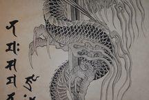dragon / tattoo