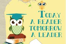 "We ""owl"" love learning! / by Emily Bedford"