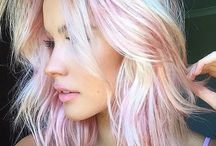 Hairstyle coloured