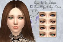 Yeux - Sims 4