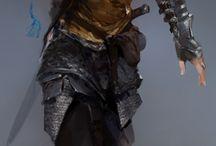 Character design: warriors