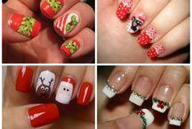 Christmas, sweet manicure inspirations - słodkie inspiracje na świąteczny manciure