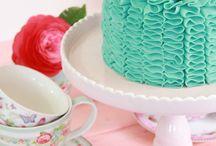 Tortas y comida festejos
