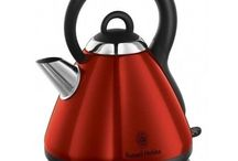 1.8 L-Capacity Rapid Boil Kettle Metallic Red