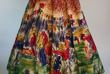 hand-painted dresses/skirts