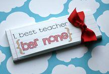 Teacher gifts / by Kim Johnson White