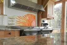 Glass Splashbacks Kitchens / Glass splashbacks and Wall Panels