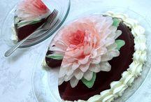 gelatin art flower
