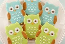 Itsy Belle's Owl Baby Shower / Owl themed Baby Shower birthday party printables crafts / by Christy of Itsy Belle