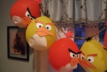 angry birds birthday party / by Mandy Holden