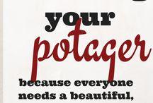 Gardening  - potages