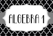 ALGEBRA / by Teresa Winings