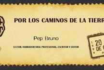 Autor: Pep Bruno / Materiales para preparar el encuentro con el narrador y escritor Pep Bruno
