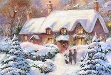 Новый год. Зима. Творчество