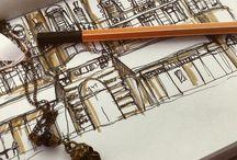 Urban sketching - Erika Biro