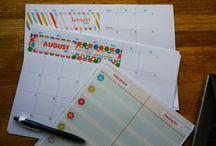 à imprimer / calendrier à imprimer