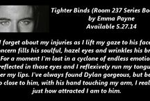 Tighter Binds, Room 237 Series Book Two / Book cover and teasers for Tighter Binds, Room 237 Series Book Two www.amazon.com/dp/B00KLDI0Q2