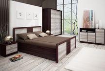 Hálószoba / Modern hálószobabútorok variálható elemekkel