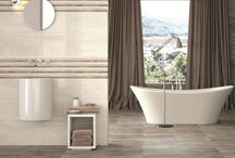 Large Bathroom Tiles / The trend at the moment is for bathroom wall tiles to be getting larger and larger. If you're looking for large bathroom tiles for walls these are some of our favourites.