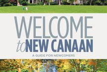 New Canaan, CT - a great place to live! / My home town of New Canaan, CT.