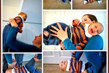 Sensory exercise fun for baby!