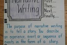 narrative writing / by Megan Jane