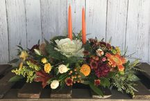 Thanksgiving / Thanksgiving is for flowers.  Our board shows arrangements and centerpieces that you can use on your table or as a hostess gift.