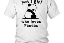 Best Cutest Panda Ever Just A Girl Cute Gift T-Shirt