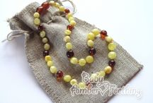 Baltic amber teething necklace  / Buy amber teething necklace from Lithuania