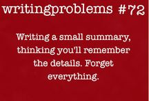 Writing problems...