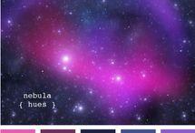 Color- kompozice / souhra barev, inspirace pro kombinace látek
