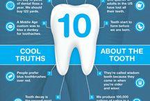 Dental Infographics / Interesting dental infographics.  To learn more about Concerned Dental Care visit our website at http://www.concerneddentalcare.com/