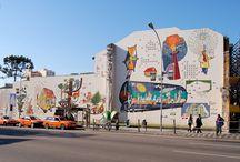 Painéis históricos de Poty Lazzarotto / Napoleon Potyguara Lazzarotto, conhecido artisticamente como Poty (Curitiba, 29 de março de 1924 — Curitiba, 8 de maio de 1998), foi um desenhista, gravurista, ceramista e muralista brasileiro.