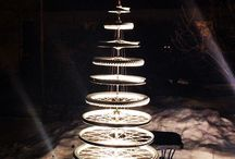 CRISTMAS TREE IDEAS WITH BICYCLE PARTS
