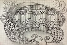 Zentangle and Mandalas / Penmanship