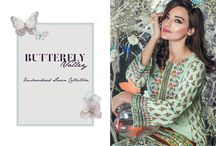 Butterfly   3 Piece Embroidered collection