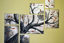 Arbre 6 canvas