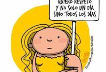 Dia De La Mujer 8 De Marzo Dibujo