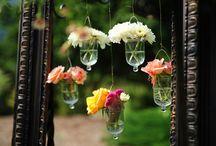 An English Flower Cottage Wedding / Vintage wedding @ Lake Lure