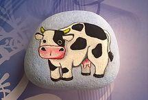pebble & rock art