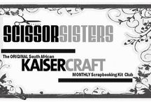 KAISERCRAFT SCISSOR SISTERS KIT CLUB