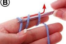 Crochet stiches - how to