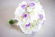 Buchet mireasa cu ranunculus si hortensia alba / buchet mireasa issamariage cu ranunculus si hortensia alba si trandafiri lila