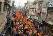 Election rally at Sangrur