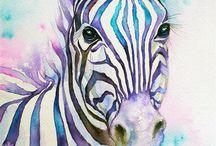 wild animals / art