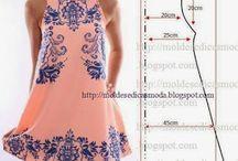 Kolay ve pratik elbise dikişi