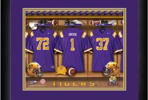 Personalized Framed Sports and Home Artwork / Get on the Ball Photos makes personalized sports frames of college and major league teams' locker rooms, stadiums and even pubs with your name on the jersey or sign!  Also, we have the HOME collection which is great for a wedding, anniversary and new home-owner gift.  Unique, one-of-a-kind gift!