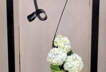 framed floral spatial design